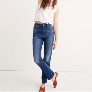 Madewell The High Rise slim boyfriend size 28